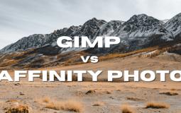 Affinity Photo vs GIMP