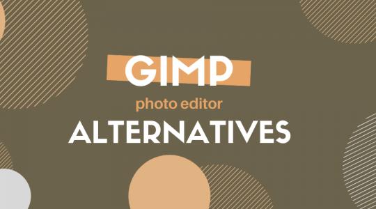 7 Best GIMP Alternatives