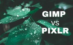 GIMP vs Pixlr