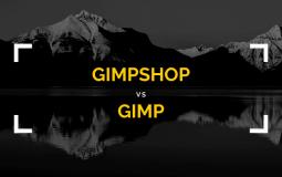 GIMPshop vs GIMP