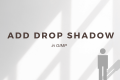 How to Add Drop Shadow in GIMP